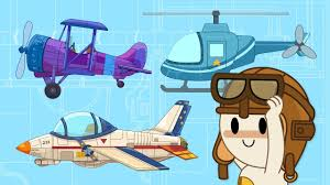 tricycle cartoon let u0027s fly helicopter and airplanes at finley u0027s factory