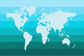 Bermuda World Map World Map Blue Vector Graphics Creative Market