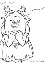 trolls coloring pages trolls coloring pages branch satin