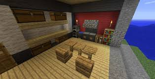 cuisine minecraft chambre moderne minecraft avec salle de bain minecraft idees et