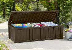delightful patio deck boxes suncast extra large deck box home