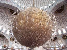 Largest Chandelier Mosque