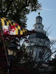 panoramio photo of maryland flag and state house annapolis md