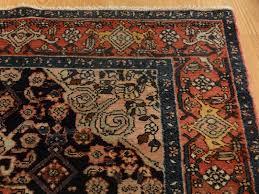 Antique Persian Rugs by Antique Persian Bakhtiari Rug Medallion Coral Dark Blue Gray