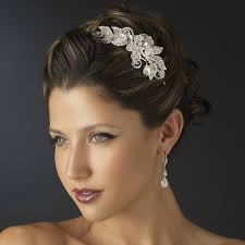 bridal headbands rhinestone floral bridal headband headpiece bridal hair