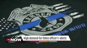 Fallen Officer Flag Officer Lehner T Shirts In High Demand Wkbw Com Buffalo Ny