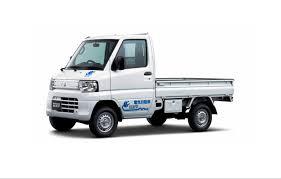 mitsubishi truck 2016 mitsubishi minicab miev truck u2013 chademo association