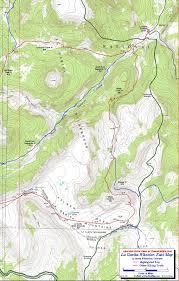 Colorado Trail Map by Wheeler Loop La Garita Wilderness Colorado Free Topo Trail Maps