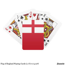 Flag Og England Flag Of England Playing Cards Playing Cards Pinterest