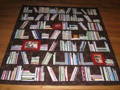 How To Do A Bookshelf Bookcase Quilt Pattern Free Read All About Them Bookshelf