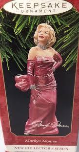 Marilyn Monroe Christmas Ornaments - hallmark 1997 marilyn monroe christmas ornament 1st in series ebay