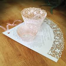 laser cut wedding programs the paisley wedding fan has laser cut intricacy that will