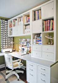 amenagement bureau ikea home office with shelves for storage kallax more ideas lifehacks