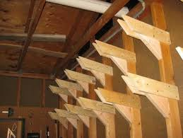 Wood Storage Rack Plans by Best 25 Lumber Storage Ideas On Pinterest Wood Storage Rack