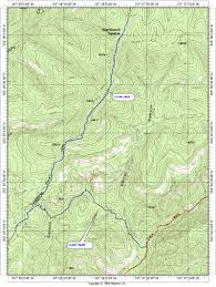 New Mexico Topographic Map by 1h Topo Map Of Aldo Leopold Wilderness Hike High Resolution