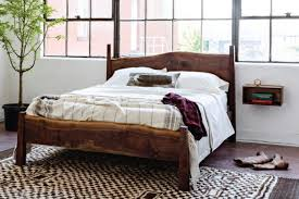 live edge bed soaring heart natural bed company