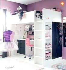 bureau pour chambre de fille deco de chambre fille lit avec bureau pour fille deco chambre