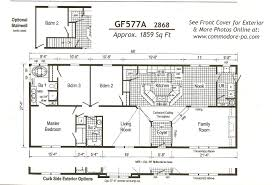 bedrooms 4 bedroom double wide mobile home floor plans with
