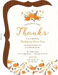 thanksgiving invitation cards 100 images thanksgiving