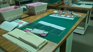 patchwork and quilting workshop of sew