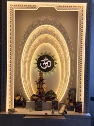 2d And 3d Interior Designer In West Delhi And Delhi Ncr Designer 3d Mandir Backlit For Hindu Religion Nitin Pinterest