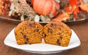 pumpkin chocolate chip muffins wishesand dishes