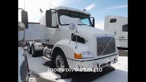 volvo truck sleeper cabs 2000 volvo vnm 420 flat top sleeper for sale 42 u0027 flat top sleeper
