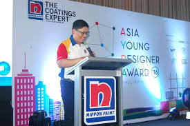 nippon paint launches asia young designer award 2016 joy gurtiza
