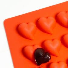 heart chocolate heart chocolate mold 12g truffly made chocolate molds