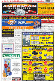 american classifieds champaign february 19 2009 by american
