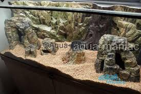 aquarium large rock cave for tropical fish tanks for