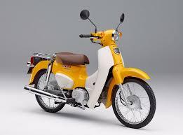 Honda Rugged Scooter Honda Reissues Classic Super Cub Models Celebrates 100 Million