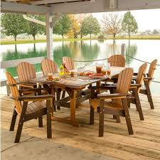 Polywood Patio Furniture by Amish Made Dining Patio Sets Pinecraft Com U2022 9 Piece Patio