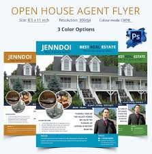 Real Estate Flyers Templates by Open House Flyer Template U2013 30 Free Psd Format Download Free