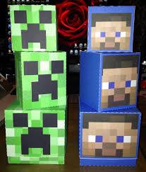 Minecraft Party Centerpieces by 21 Best Minecraft Images On Pinterest Minecraft Birthday Party