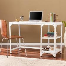 southern enterprises writing desk southern enterprises holston industrial writing desk distressed