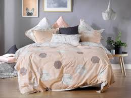 zola pink peach quilt cover set by bianca just bedding