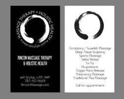 Sports Massage Business Cards Contact Us Rincon Massage Massage Therapist And Holistic