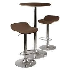Adjustable Bar Table Round Pub Table Hayneedle