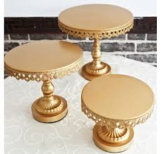 gold cake stands gold cake stand small cakes cake