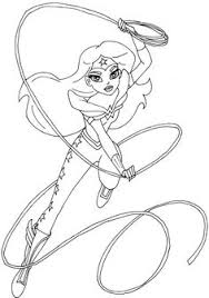 woman coloring pages free superhero woman