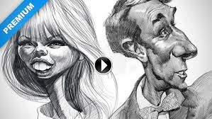 narrated final sketches u2013 caricature examples proko