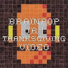brainpop jr thanksgiving for school