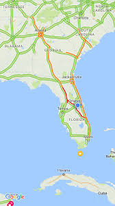 Little Havana Miami Map by There Is Currently A Traffic Jam From Miami To The Tennessee
