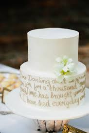 wedding cake quotation 10 ways to use quotes on your wedding day