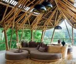 canapé exotique diy bambou sec décoration de jardin plafond en bambou canapé en bois