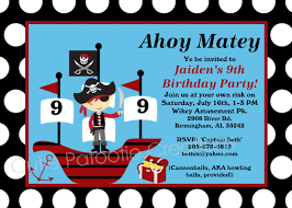 office depot invitations printing pirate birthday invitation pirate party invitations