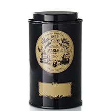 ã tole mariage mariage frères boite classique boîte à thé vide 100 g 100