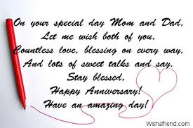 25th Wedding Anniversary Wishes Messages Anniversary Messages For Parents 496412 Quotesnew Com
