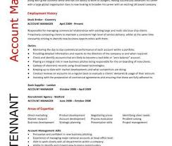 Account Manager Resume Sample by Account Manager Resume Sample Pic Account Manager Cv Gary Tenant